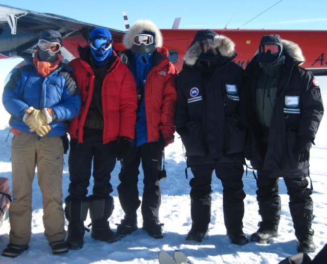 On the Antarctic plateau