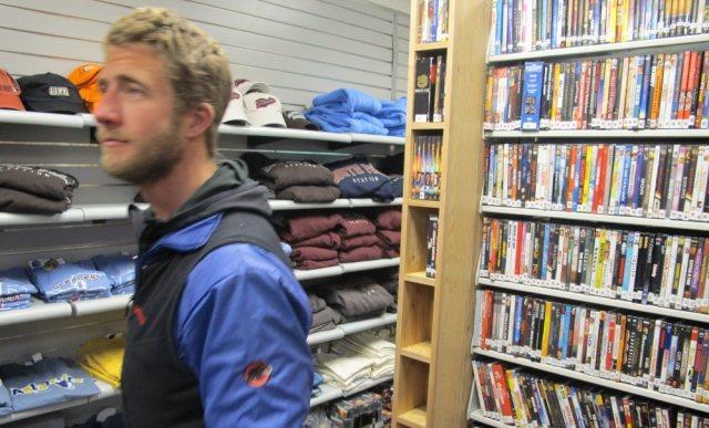 South Pole Station gift shop