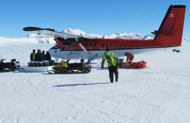 Twin Otter in Antarctica