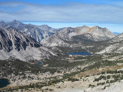 View from Pass into Kings Canyon National Park