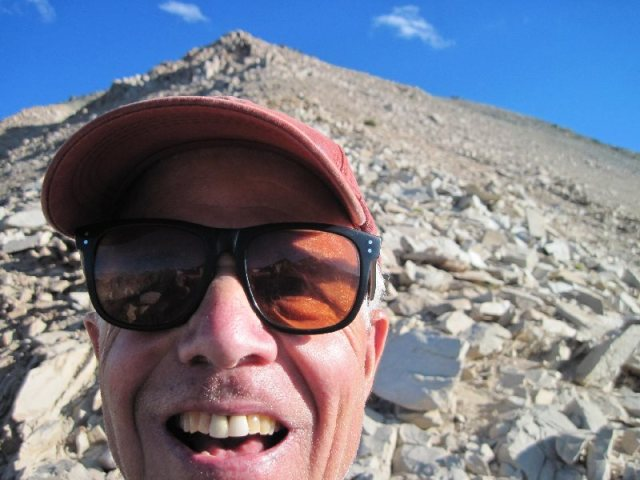 Tom at Kearsarge Pass