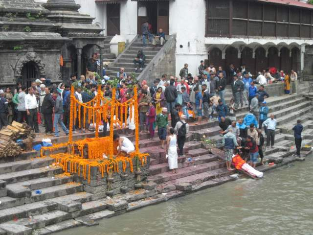 Funeral at Pashupatinath