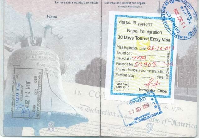 Nepal Visa