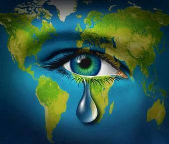 Image result for earth weeping