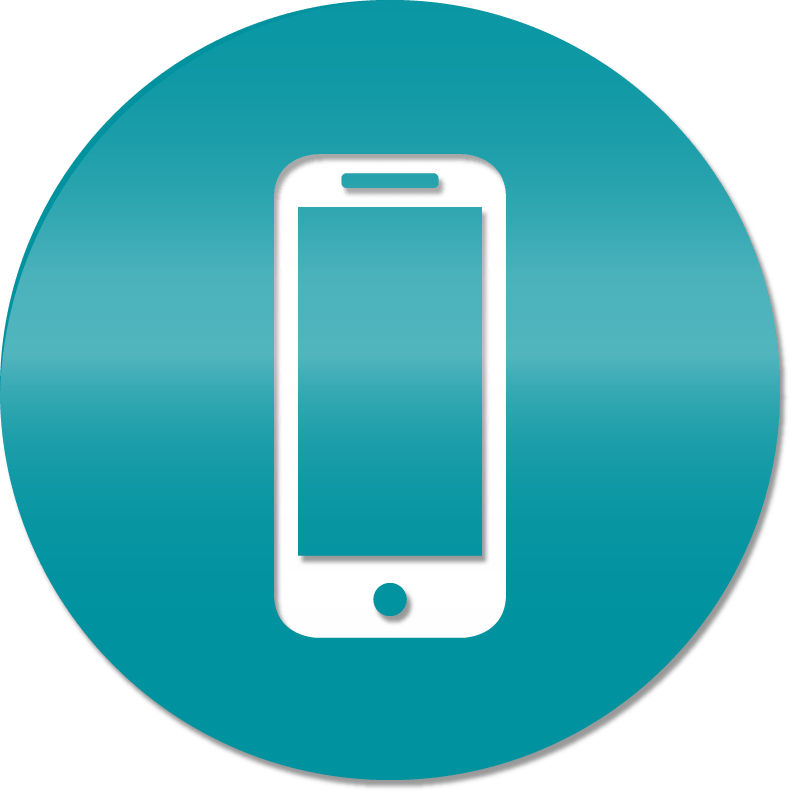 Vector image of a phone.