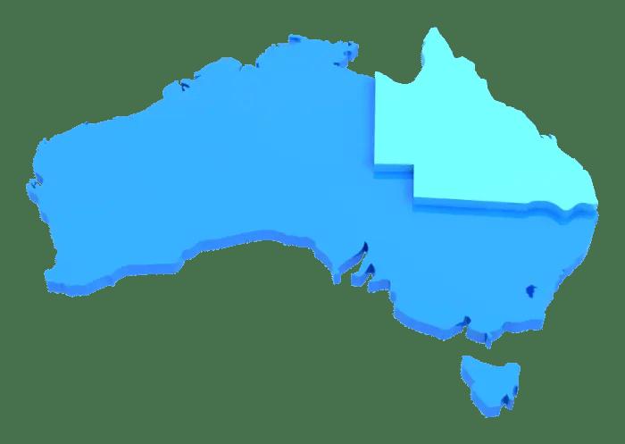 03_Australian Map Psd Animation