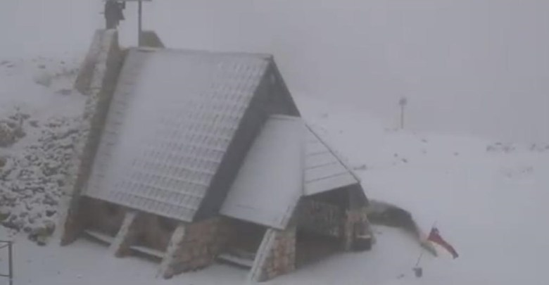 Photo of KAO DA NIJE LETO: U Sloveniji pao sneg! (VIDEO)