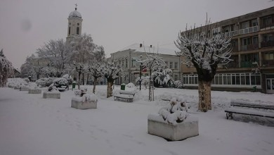 Photo of U UTORAK STIŽE VELIKI APRILSKI SNEG: Danas oblačno i hladno, sa kišom i snegom mestimično