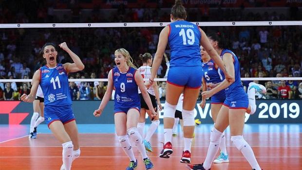 Photo of PALA JE I TURSKA U FINALU: Odbojkašice Srbije odbranile titulu šampiona Evrope! (VIDEO)