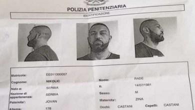Photo of SRBIN POBEGAO IZ ITALIJANSKOG ZATVORA NA FILMSKI NAČIN! Rade umakao kroz prozor WC-a pored 7 policajaca!