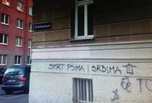 Photo of SKANDALOZNI GRAFITI U BEČU: Smrt psima i Srbima, Srbe na vrbe! (FOTO)