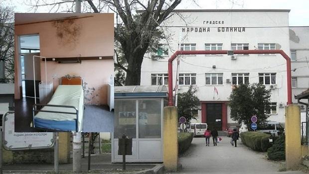 Photo of HOROR U BOLNICI U POŽAREVCU: Buđava soba na internom odeljenju!