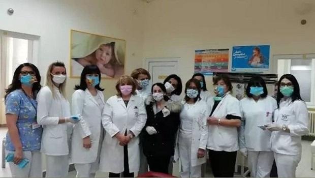 Photo of Humane požarevačke krojačice poklonile zaštitne maske