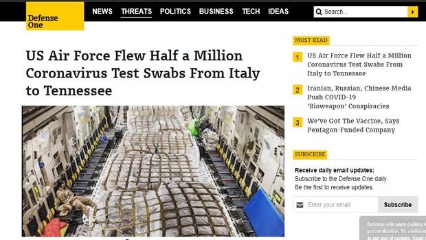 Photo of ZAPAD U ŠOKU: SAD iz Italije ukrala pola miliona testova za korona virus!