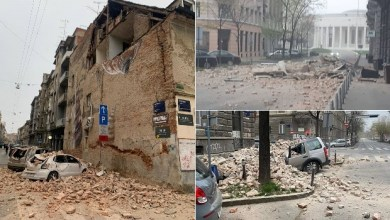 Photo of DVA RAZORNA ZEMLJOTRESA U ZAGREBU: Teško povređeno dete od 15 godina, vatrogasci izvlače ljude iz ruševina (VIDEO)