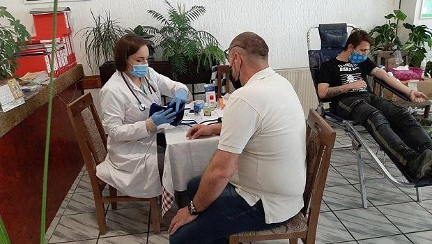 Photo of Humani građani dali krv