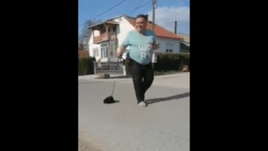 Photo of DOBAR ŠTOS: Knežičanin nema kućnog ljubimca, pa prošetao psa igračku (VIDEO)