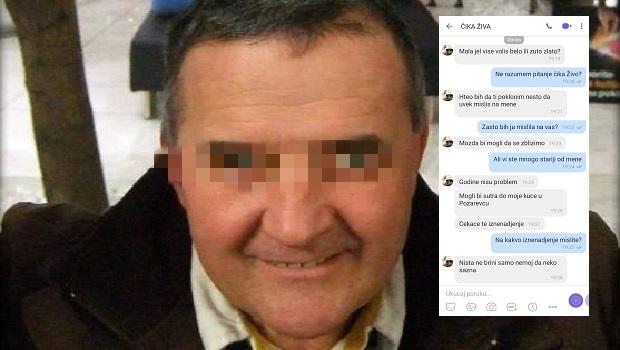 Photo of HOROR U ŽAGUBICI: Čika Živa pedofil slao devojčici (15) gnusne poruke! (FOTO)