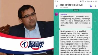 Photo of VLAŠA MAGIJA I NAPREDNA POLITIKA: Janošević sa vračom pustio magijske čini niz reku, i pokorio opoziciju! (FOTO)