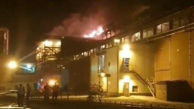 Photo of OVAKO JE GORELA TOPIONICA RTB BORA SINOĆ: Vatrogasci obuzdali vatrenu stihiju, ne znaju se uzrok i visina štete (VIDEO)