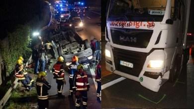 Photo of TEŽAK UDES U AUSTRIJI: Srpski kamiondžija se zakucao u minibus pun Rumuna (VIDEO)