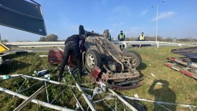 Photo of JEDNA OSOBA POVREĐENA: Težak udes na auto-putu kod skretanja za Požarevac