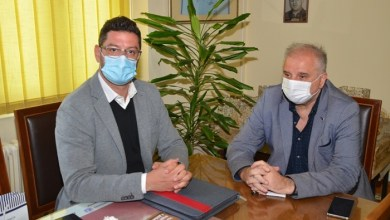 Photo of NOVE INVESTICIJE: Direktor Agencije za upravljanje lukama sa predsednikom Velikog Gradišta