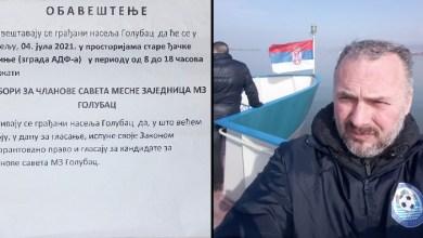 Photo of SAOPŠTENJE: Prvo odgovori na pitanja građana, pa fer i pošteni izbori za savet MZ Golubac