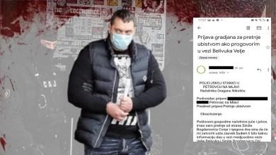 Photo of BELIVUKOVI SARADNICI PETROVAČKOG KLANA PRETE I UCENJUJU: Svedok sa porodicom pobegao iz Petrovca zbog pretnji ubistvom (FOTO/VIDEO)