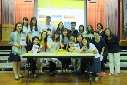 教師團契為同工慶祝生日