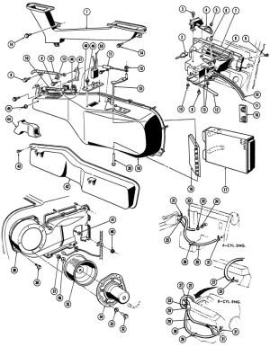 196768 Firebird Heater Illustrated Parts Break Down