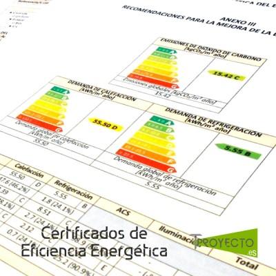 Certificados Energéticos Tproyecto