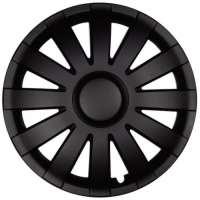 wieldoppen 13 inch Agat | zwart