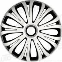 wieldoppen 13 inch Avera | silver/zwart