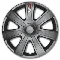 wieldoppen 15 inch VR | grijs/carbon
