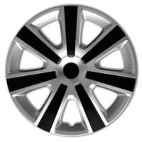 wieldoppen 15 inch VR | silver/zwart