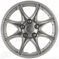 wieldoppen 16 inch Alaska | silver/gunmetal