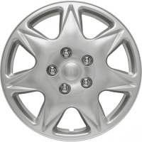 wieldoppen 17 inch California | silver