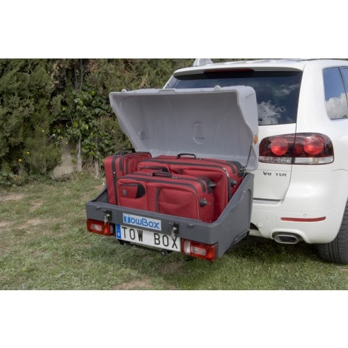 towbox v1 grijs auto koffers