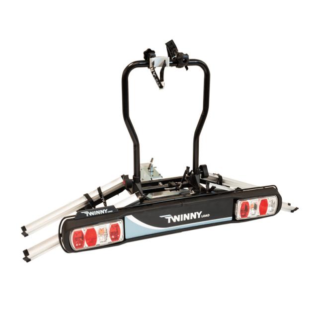 Twinnyload fietsendrager E-carrier basic schuinaanzicht