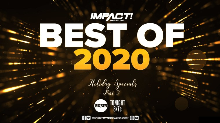 Impact Results – Dec. 29, 2020 – Best of 2020 Part 2 + Year End Awards – TPWW