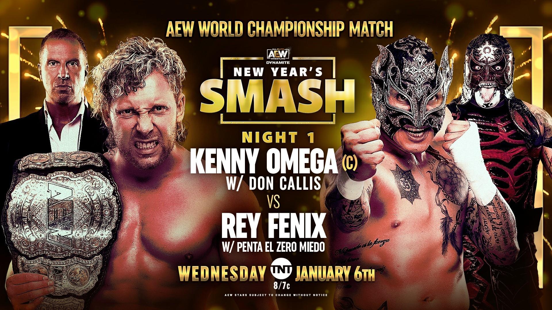 AEW Dynamite Results – Jan. 6, 2021 – New Year's Smash, Omega vs. Fenix – TPWW