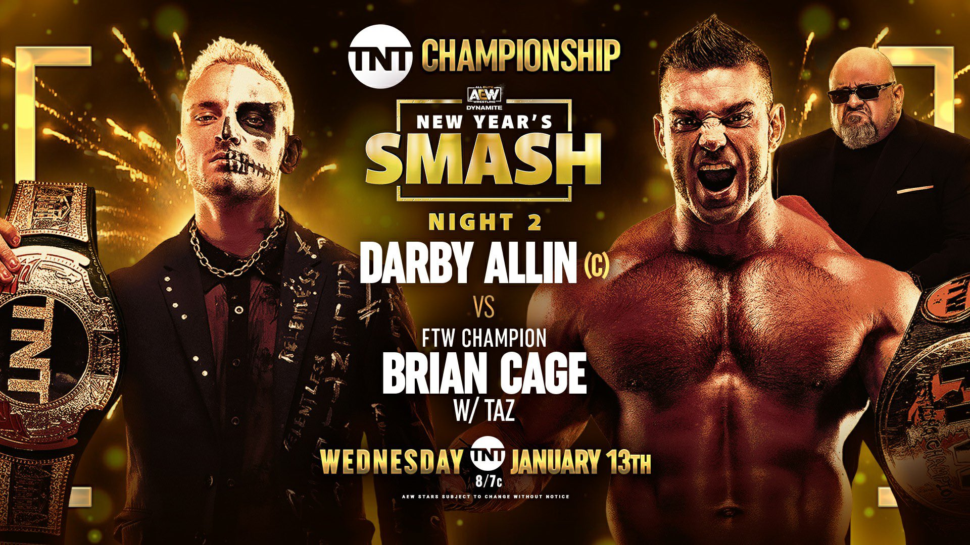 AEW Dynamite Results – Jan. 13, 2021 – New Year's Smash, Allin vs. Cage – TPWW