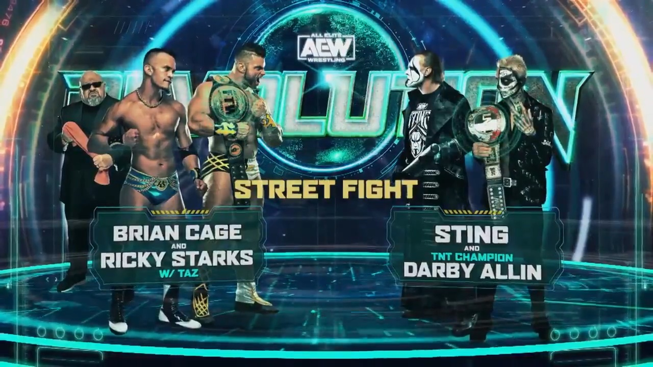 """Sting Will Wrestle in a """"Street Fight"""" at AEW Revolution – TPWW"""
