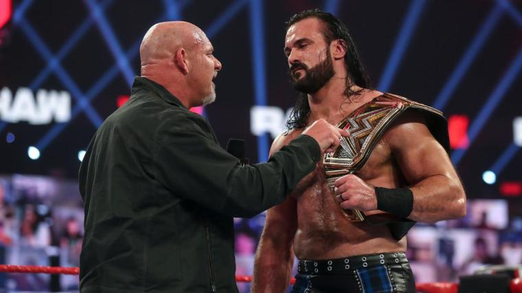 Goldberg Returns on Raw, Challenges Drew McIntyre to Royal Rumble Title Match – TPWW