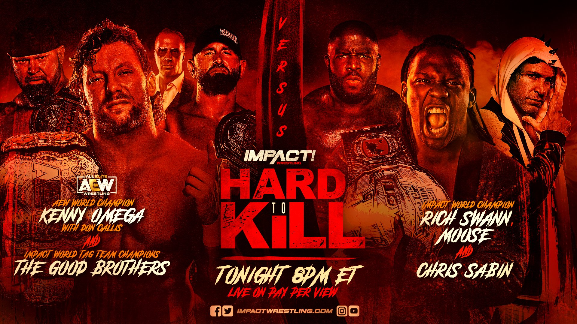 Impact Hard to Kill Results – Jan. 16, 2021 – Omega & Good Brothers vs. Swann, Moose, Sabin – TPWW