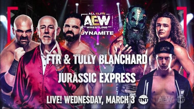 Four Matches Announced for Next Dynamite, Four Women's Tournament Matches Monday – TPWW