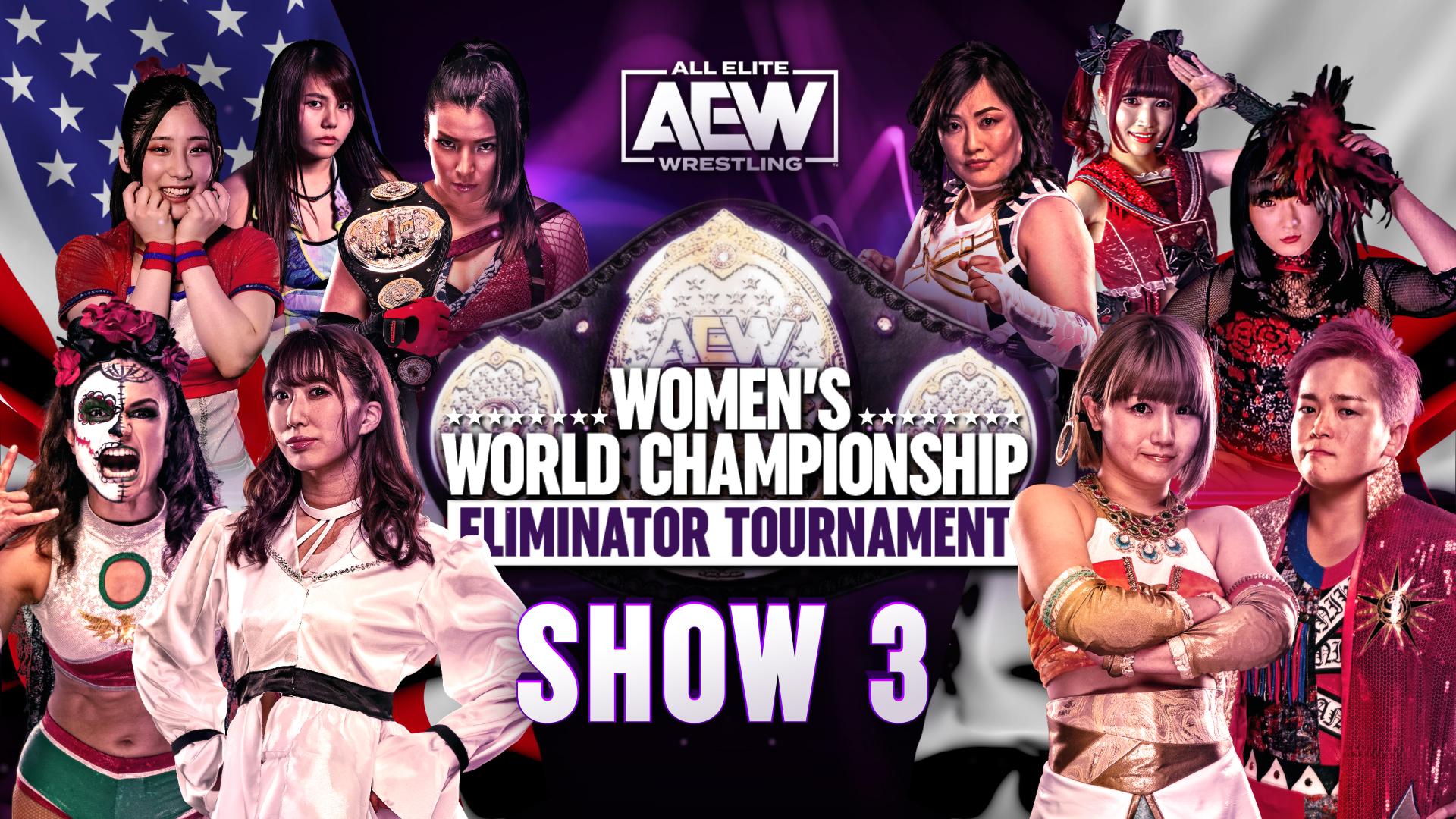 AEW Women's Eliminator Tournament Show 3 Results – Feb. 28, 2021 – Rosa vs. Riho, Japan Finals – TPWW