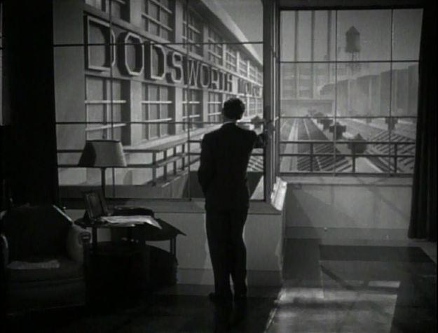 Dodsworth:  Walter Huston in opening shot.