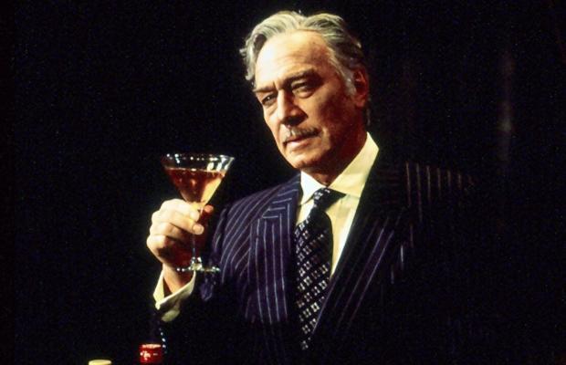 Plummer as Barrymore:  I'll have Manhattan . . .